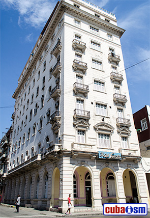 Hotel Lincoln in Havana city, Cuba